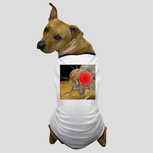 Fruit fly, SEM - Dog T-Shirt
