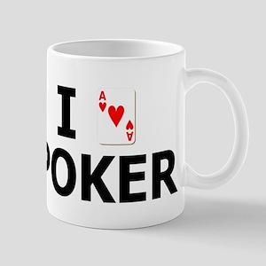 I Heart Poker Mug