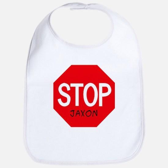 Stop Jaxon Bib