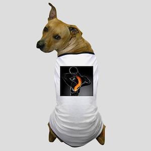 Back pain, conceptual artwork - Dog T-Shirt