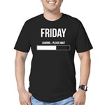 FRIDAY! Men's Fitted T-Shirt (dark)