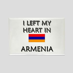 I Left My Heart In Armenia Rectangle Magnet
