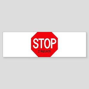 Stop Darian Bumper Sticker