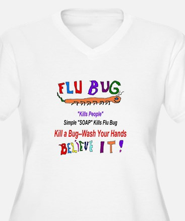 Kill FLU Bugs T-Shirt