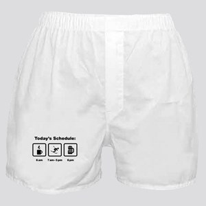 Skiing Boxer Shorts