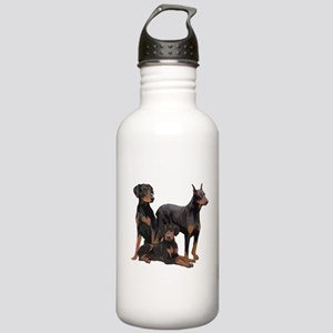 three dobermen Stainless Water Bottle 1.0L