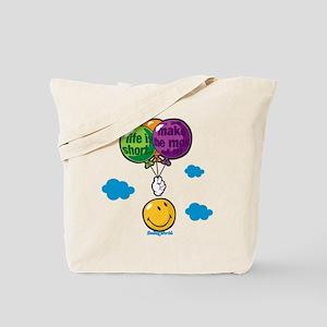 Ballon Smiley Tote Bag