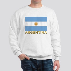 Argentina Flag Stuff Sweatshirt
