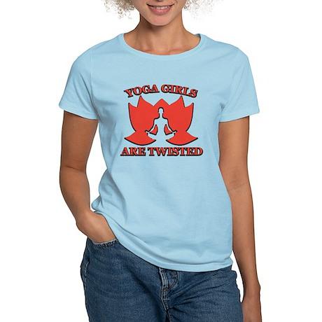 Yoga Girls are Twisted Women's Light T-Shirt