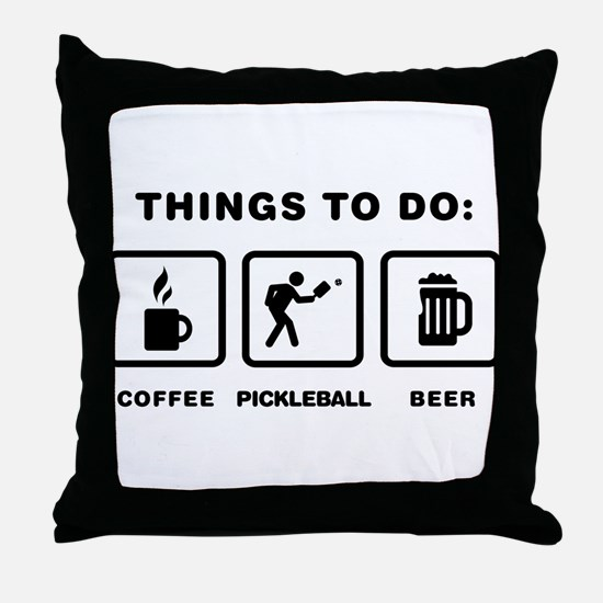 Pickleball Throw Pillow