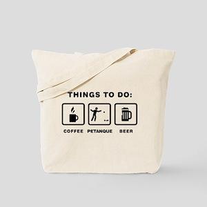 Petanque Tote Bag