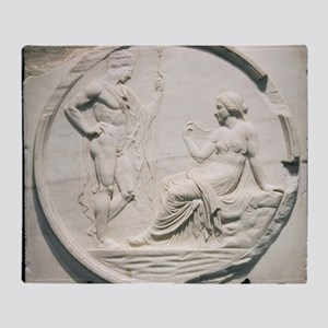 Achilles consulting Pythia, Roman carving - Stadi