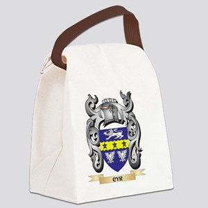 Cyr Family Crest - Cyr Coat of Ar Canvas Lunch Bag