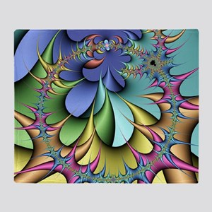 Julia fractal - Throw Blanket
