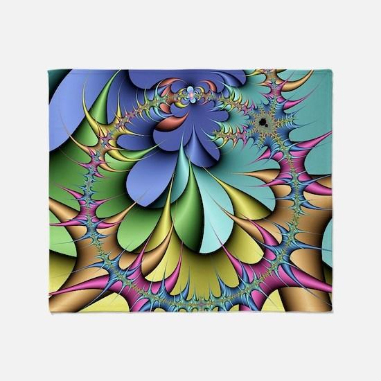 Julia fractal - Throw Blanket