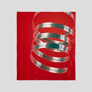 Magnesium ribbon - Throw Blanket