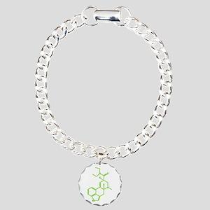LSD molecule Charm Bracelet, One Charm
