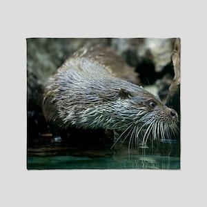 Otter - Throw Blanket