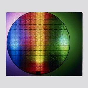 Semiconductor wafer - Throw Blanket