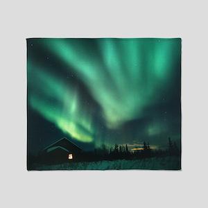 Aurora borealis - Throw Blanket