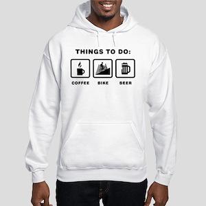 Mountain Biking Hooded Sweatshirt