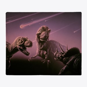 Death of dinosaurs - Throw Blanket