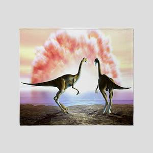 Extinction of the dinosaurs, artwork - Stadium Bl