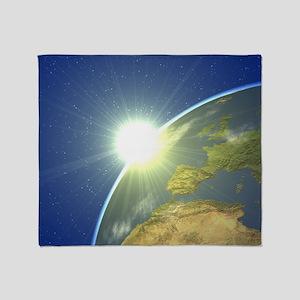 Earth - Throw Blanket