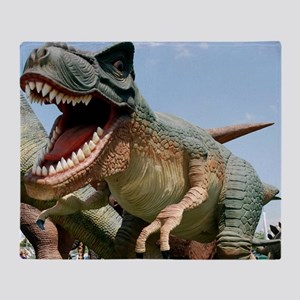 Model dinosaur - Throw Blanket