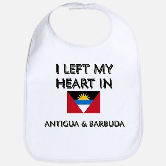 I Left My Heart In Antigua & Barbuda Bib