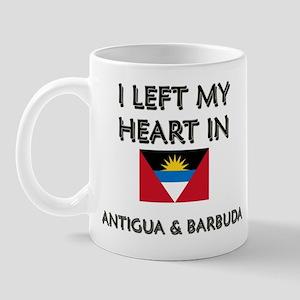 I Left My Heart In Antigua & Barbuda Mug