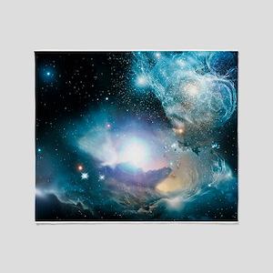 Primordial quasar, artwork - Throw Blanket