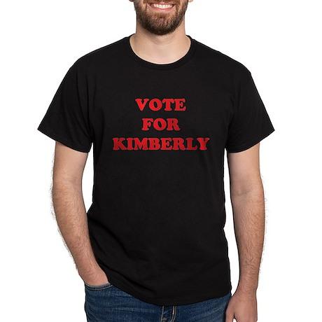 VOTE FOR KIMBERLY Dark T-Shirt