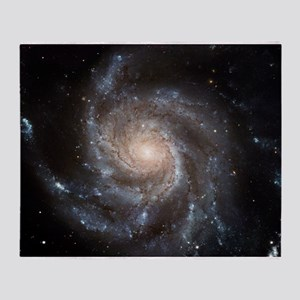 Spiral galaxy M101 - Throw Blanket