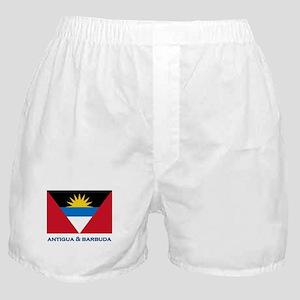 Antigua & Barbuda Flag Gear Boxer Shorts