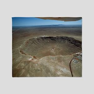 Meteor crater - Throw Blanket