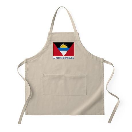 Antigua & Barbuda Flag Gear BBQ Apron