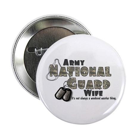 National Guard Wife - Digital Button
