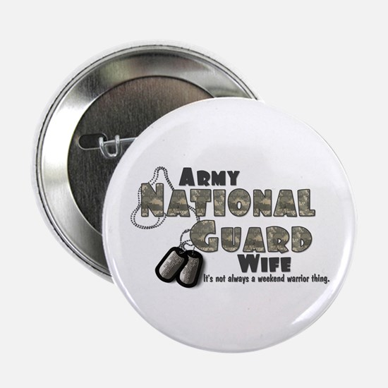 National Guard Wife - Digital Button