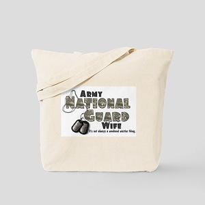 National Guard Wife - Digital Tote Bag