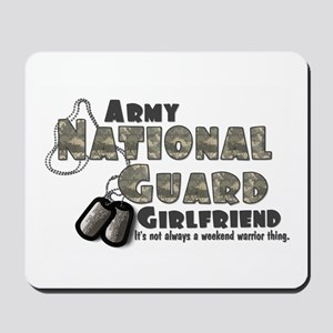 National Guard Girlfriend - Mousepad