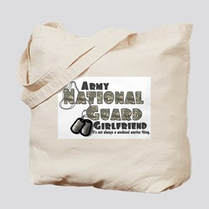 National Guard Girlfriend - Tote Bag