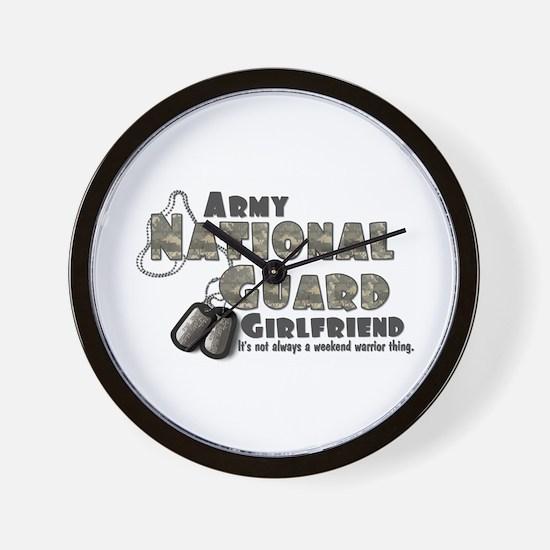 National Guard Girlfriend - Wall Clock
