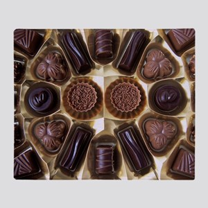 Assorted chocolates - Throw Blanket