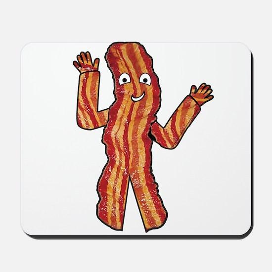 Happy Bacon Mousepad