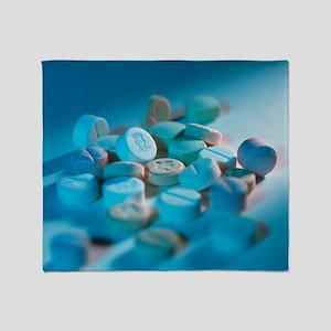 Ecstasy pills - Throw Blanket