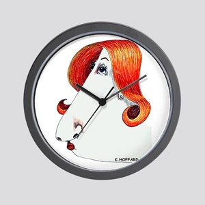 Miss Thing Wall Clock