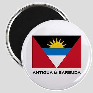 Antigua & Barbuda Flag Merchandise Magnet