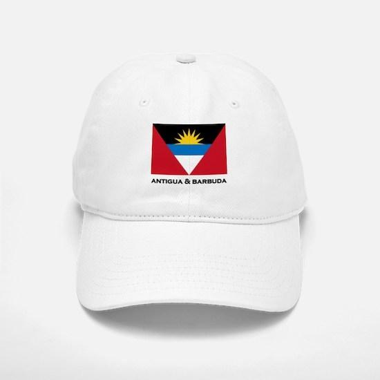 Antigua & Barbuda Flag Merchandise Baseball Baseball Cap
