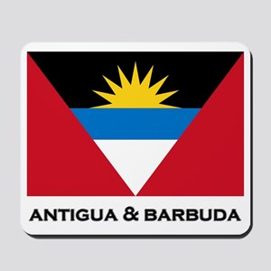 Antigua & Barbuda Flag Merchandise Mousepad